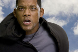 Will Smith gets his game face on.