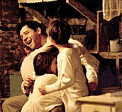 Russell Crowe as Jim Braddock, fighter and family man