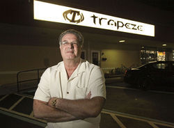 Alan Mostow, co-owner of Trapeze, the largest swingers&#039; club in the nation.