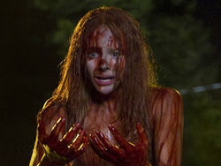 Chloë Grace Moretz stars in the 2013 remake of Carrie.