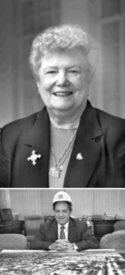 Sister Jeanne O&#039;Laughlin (at top) and vice president Timothy Czerniec (above) have been the chief architects of Barry&#039;s big growth
