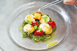 Caprese salad. View a photo slide show of the Bazaar.
