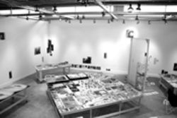 Kim Brown and Maria Martinez-Cañas's MoCA studio  space