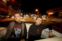 The Crystal Method: Their fast and furious beats come to Gryphon.