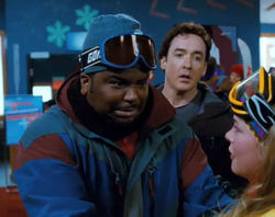Craig Robinson (left) joins John Cusack for comedic time travel.
