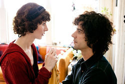 Miranda July and Hamish Linklater