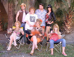 The Actors' Playhouse cast of The Great American Trailer Park Musical