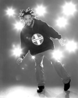 Big feet in the footlights: Tap master Savion Glover