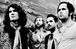 The Killers do their best Mount Rushmore impression