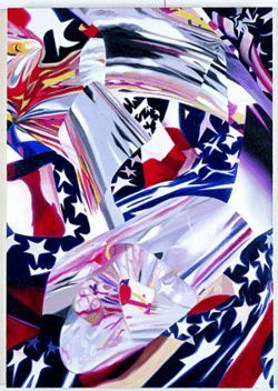James Rosenquist's The Stars and Stripes at the Speed of Light at Miami Art Museum