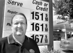 Bitter man: Ron Gregory lost his Perrine service  station after being shafted by Shell