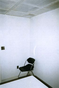 The room where Braddy was interrogated