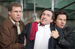Will Ferrell, Steve Coogan, and Mark Wahlberg