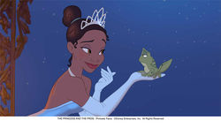 Anika Noni Rose voices Princess Tiana.