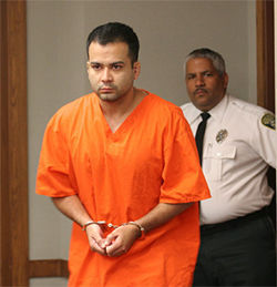 Francisco Oliveira Jr. is scheduled to go on trial in June for allegedly shooting Estefano in May 2007.