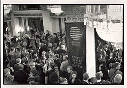 "Opening night of the 1989 ""Sundance"" Film Festival"