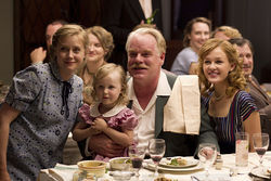 Amy Adams (left) and Philip Seymour Hoffman star in The Master.