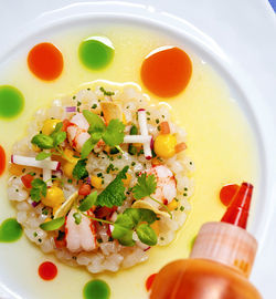 Snapper and shrimp ceviche. View more photos.