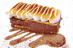 Chocolate-pudding icebox cake