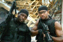 Martin Lawrence (left) and Will Smith are back in Bad Boys II 