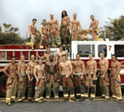 "Did someone yell ""fire""? The South Florida Firefighters are here to help with their calendar"