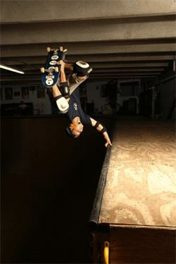 Robbie Weir inverted
