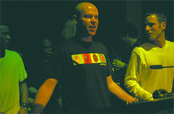 Dave Seaman (left) and Jon Cowan, gettin&#039; housed