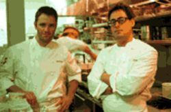 Scott Fredel and J.D. Harris -- the two young ones at the stove of the delectable Rumi