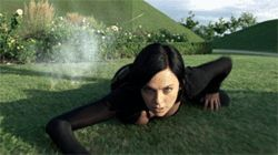 You may enjoy watching Aeon Flux, but you won't enjoy thinking about it.