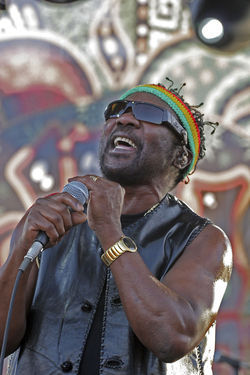 """Bam Bam"" at Bayfront with Toots and the Maytals."