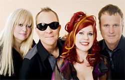 The B-52's resurrect thrift store glam.