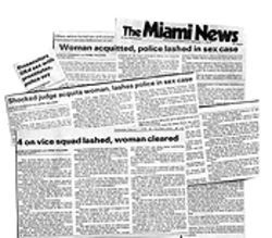 In 1977 Raul Martinez made headlines for his role in a prostitution sting