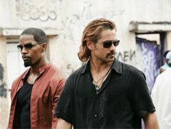 Jamie Foxx and Colin Farrell have some natural chemistry