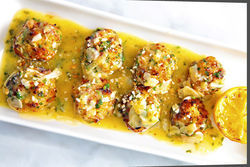 Vic & Angelo's baked clams al forno. Click here for more photos.