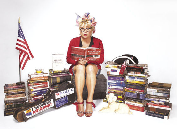 Victoria Jackson's excellent Tea Party adventure