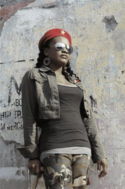 Tanya's Rebelution is militant but not righteous