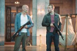 This time, McClane (Bruce Willis) teams up with his estranged son, Jack (Jai Courtney).