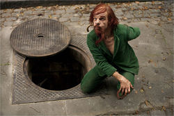 Denis Lavant stars in Holy Motors.