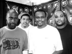 Post-golden age De La Soul and Beastie Boys: MCA (left), DJ Maseo, Posdnous, Mike D, King Ad-Rock, and Trugoy the Dove