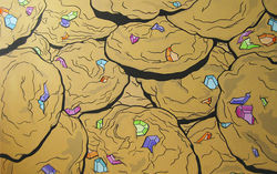 Blinged-out cookies from Jessy Nite's Money-Hungry series.