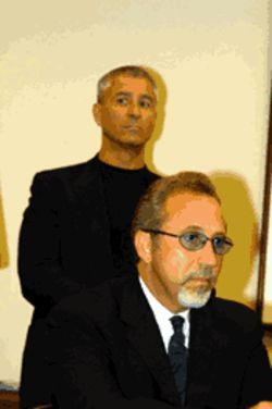 Emilio Estefan guards his reputation while Tony Almeida guards his life
